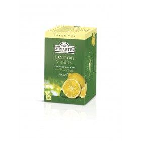 AHMAD TEA Green Tea Lemon