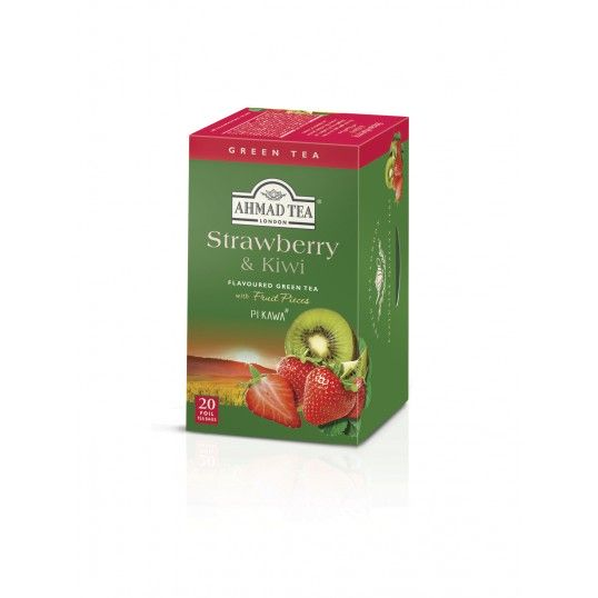 Herbata AHMAD TEA Strawberry & Kiwi