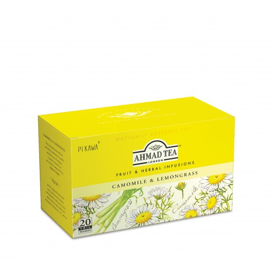 Herbata AHMAD TEA Camomile&Lemongrass/Rumianek i Trawa Cytrynowa