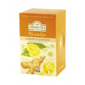 AHMAD TEA Lemon & Ginger/Cytryna i Imbir