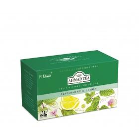AHMAD TEA Peppermint & Lemon/Mięta i Cytryna
