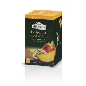 AHMAD TEA Peach&Passion Fruit/Brzoskwinia i Passiflora