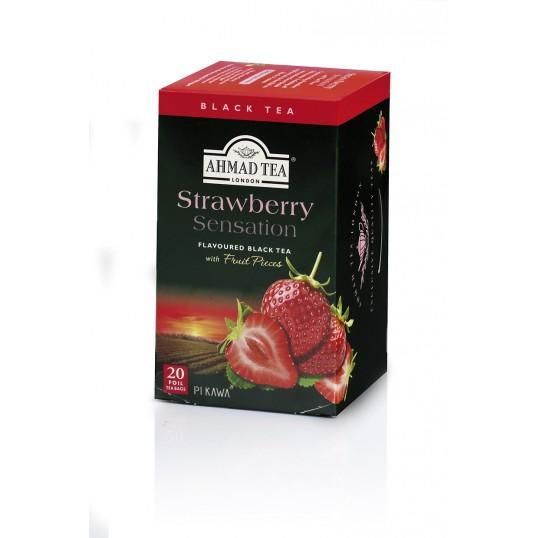 Herbata AHMAD TEA Strawberry/Truskawka